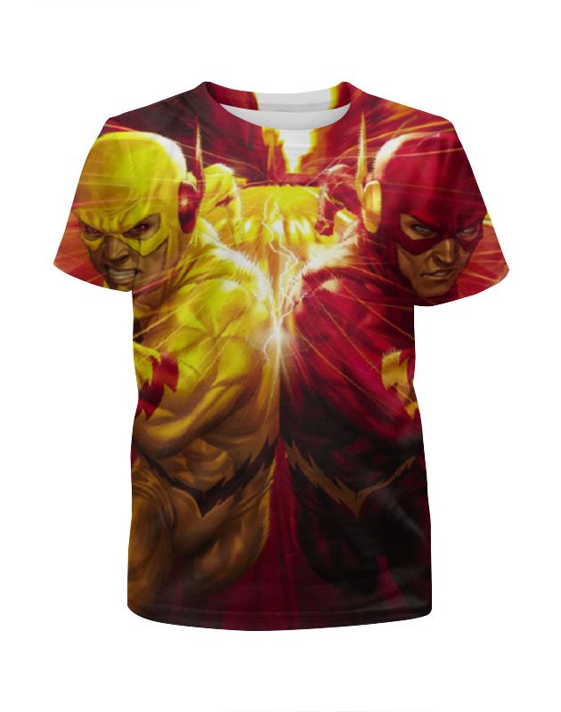 Футболка с полной запечаткой для мальчиков Printio Обратный флэш футболка с полной запечаткой для мальчиков printio ночь всех святых
