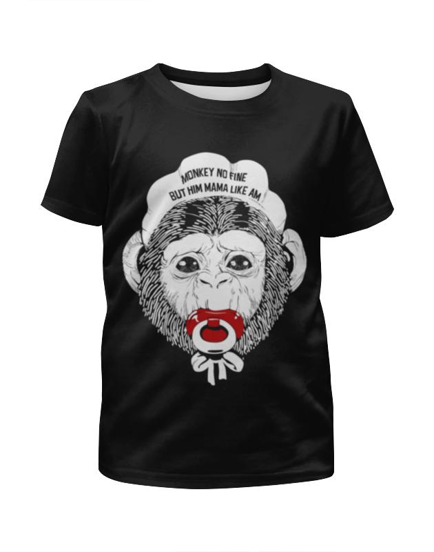 Футболка с полной запечаткой для мальчиков Printio Год обезьяны футболка с полной запечаткой для мальчиков printio новый год 2016
