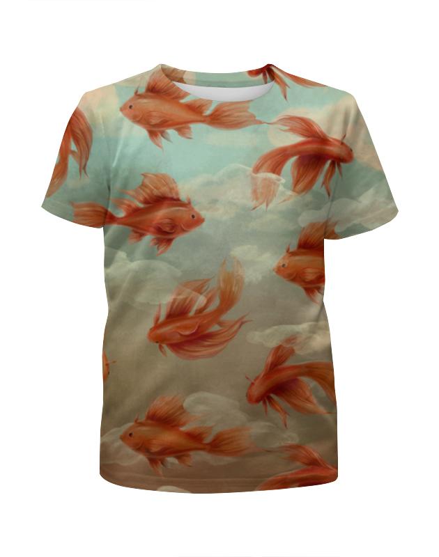 лучшая цена Printio Золотые рыбки