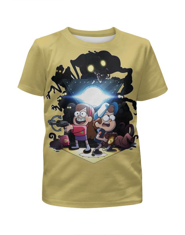 Printio Gravity falls / гравити фолз футболка с полной запечаткой для девочек printio гравити фолз gravity falls