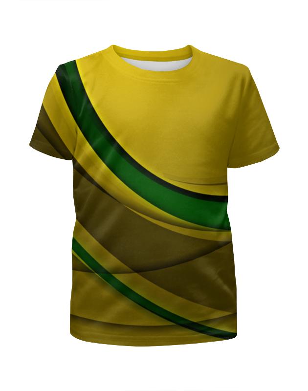 Футболка с полной запечаткой для мальчиков Printio Линии футболка с полной запечаткой для мальчиков printio узор линии