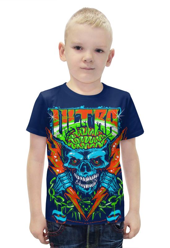 Футболка с полной запечаткой для мальчиков Printio Ultra футболка с полной запечаткой для мальчиков printio bats spawn arsb