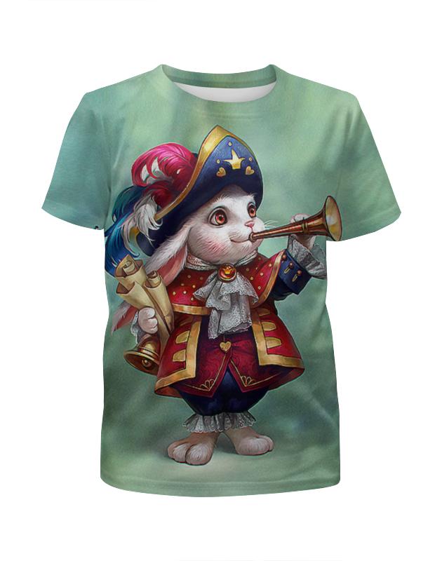 Футболка с полной запечаткой для мальчиков Printio Bunny guard футболка с полной запечаткой для мальчиков printio spawn