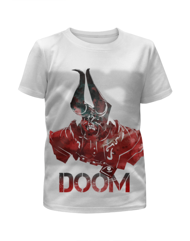 Футболка с полной запечаткой для мальчиков Printio Doom dota 2 рубашка женская oodji ultra цвет белый розовый 11402084 3b 12836 1241f размер 44 170 50 170