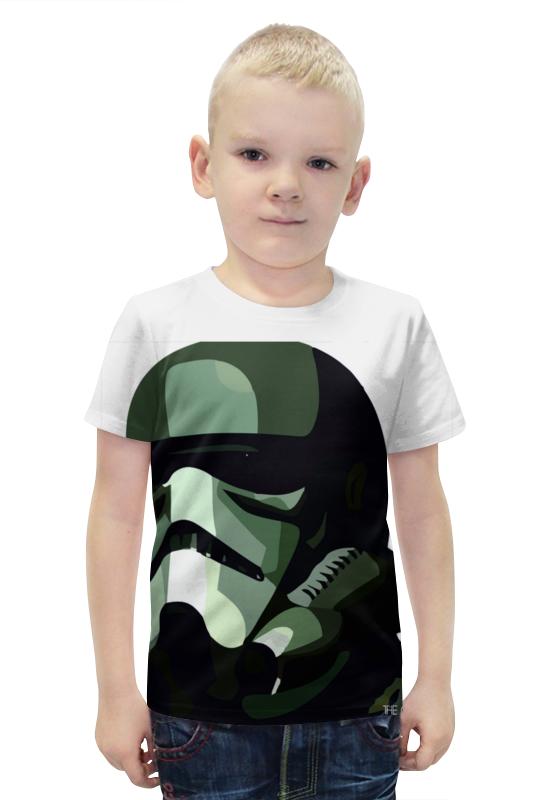 Футболка с полной запечаткой для мальчиков Printio Штурмовик футболка с полной запечаткой для мальчиков printio bats spawn arsb
