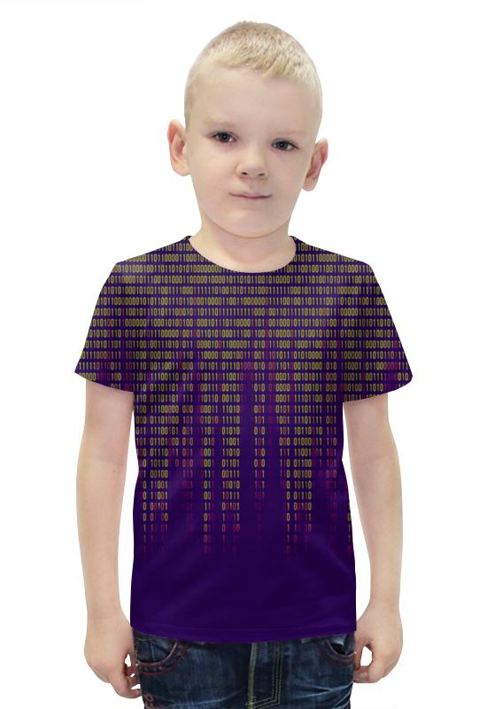 Футболка с полной запечаткой для мальчиков Printio Числа футболка с полной запечаткой для мальчиков printio bats spawn arsb