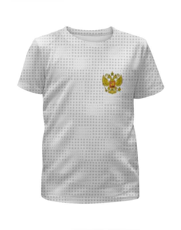 Футболка с полной запечаткой для мальчиков Printio Сборная россии по футболу