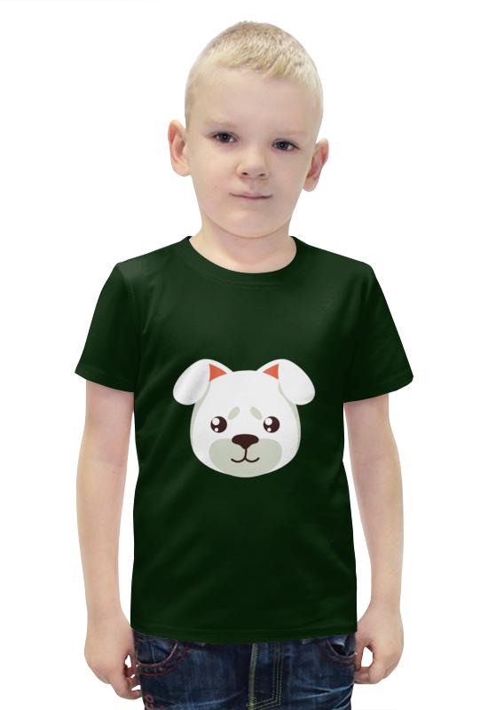 Футболка с полной запечаткой для мальчиков Printio Собачка футболка с полной запечаткой для мальчиков printio bats spawn arsb