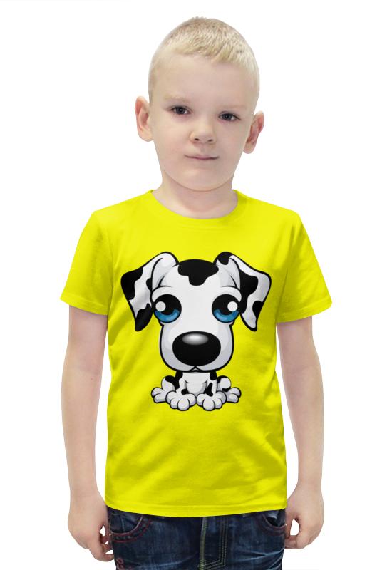 Футболка с полной запечаткой для мальчиков Printio Далматинец футболка с полной запечаткой для мальчиков printio bats spawn arsb