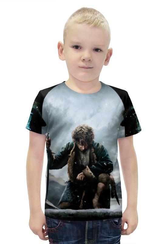 Футболка с полной запечаткой для мальчиков Printio Хоббит футболка с полной запечаткой для мальчиков printio bats spawn arsb