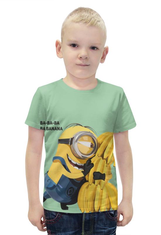 Футболка с полной запечаткой для мальчиков Printio Миньон футболка с полной запечаткой для мальчиков printio bats spawn arsb