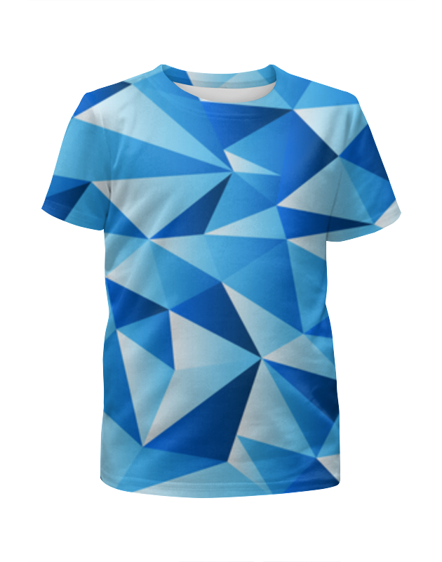 Футболка с полной запечаткой для мальчиков Printio Треугольник футболка с полной запечаткой для мальчиков printio bones brigade