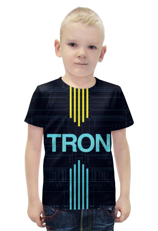 Футболка с полной запечаткой для мальчиков Printio Элекtron футболка с полной запечаткой для мальчиков printio bats spawn arsb