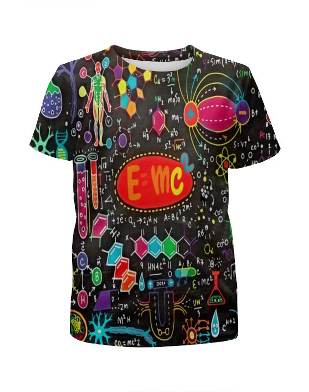 Футболка с полной запечаткой для мальчиков Printio Химия футболка с полной запечаткой для мальчиков printio сланцы