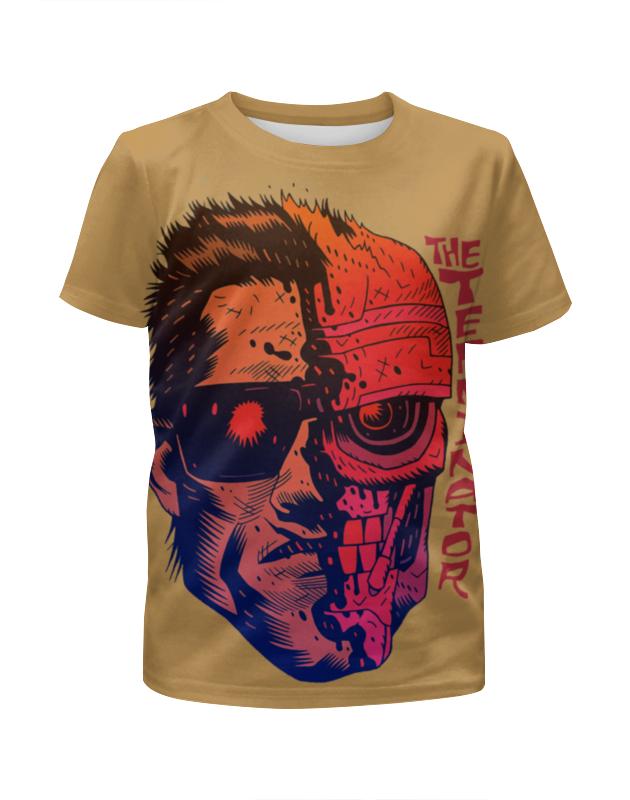 Футболка с полной запечаткой для мальчиков Printio Terminator футболка с полной запечаткой для девочек printio terminator