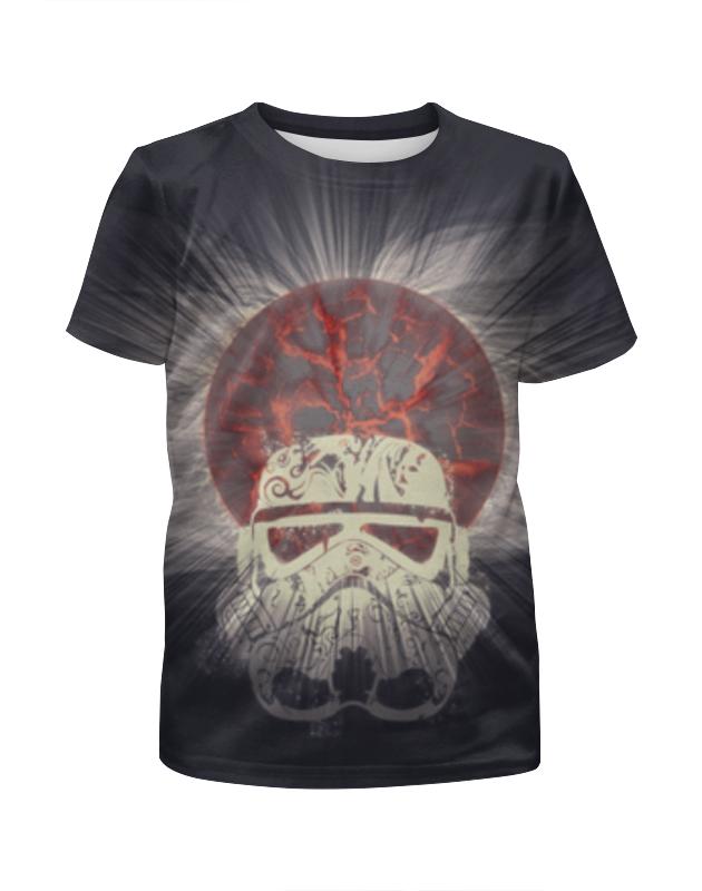 футболка с полной запечаткой для мальчиков printio star wars stormrooper звездные войны штурмовик Printio Штурмовик (звездные войны)