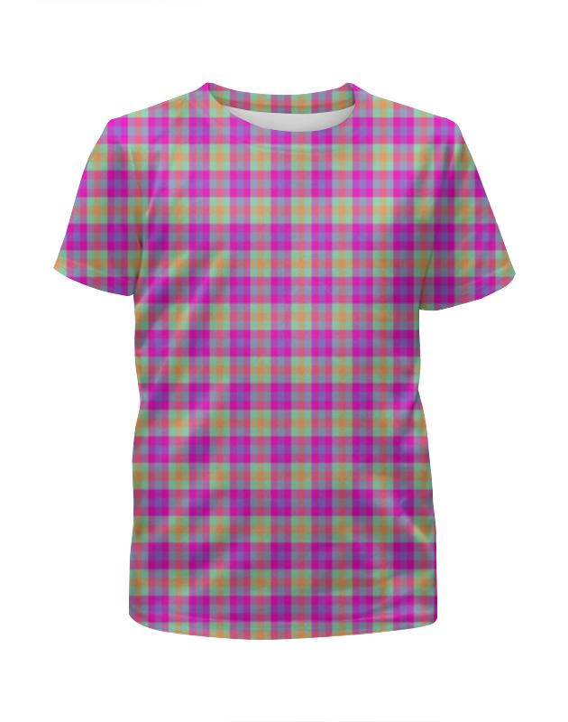 Printio Текстура ткани в цветную клеточку купить женскую куртку цветную производство турция