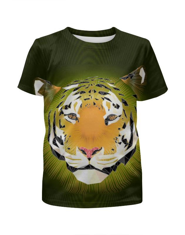 Футболка с полной запечаткой для мальчиков Printio Тигр футболка с полной запечаткой для мальчиков printio охрана тигр