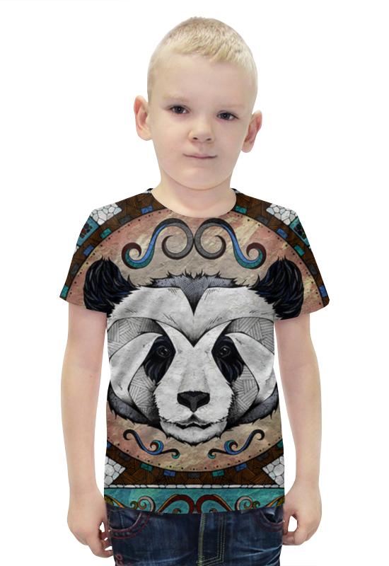 Футболка с полной запечаткой для мальчиков Printio Панда арт футболка с полной запечаткой для мальчиков printio панда