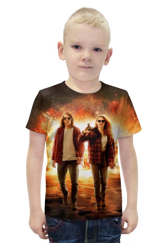 Футболка с полной запечаткой для мальчиков Printio Ультраамериканцы футболка с полной запечаткой для мальчиков printio slove arsb