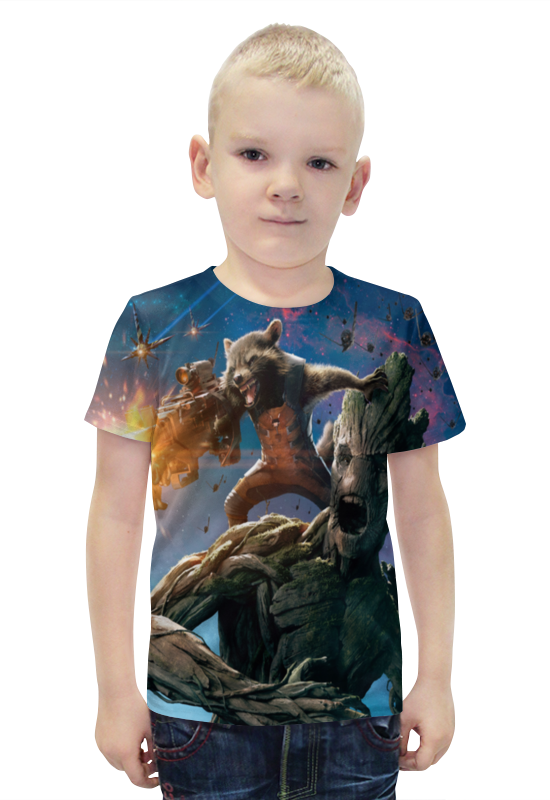 Футболка с полной запечаткой для мальчиков Printio Марвел футболка с полной запечаткой для мальчиков printio bats spawn arsb