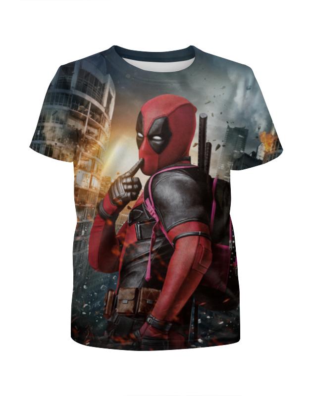 Футболка с полной запечаткой для мальчиков Printio Deadpool футболка с полной запечаткой для мальчиков printio bones brigade