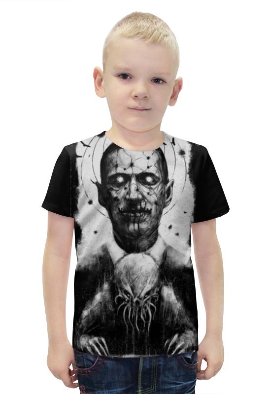 Футболка с полной запечаткой для мальчиков Printio Лавкрафт ( lovecraft ) футболка с полной запечаткой printio лавкрафт lovecraft