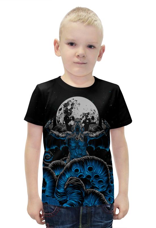 Футболка с полной запечаткой для мальчиков Printio Зов ктулху футболка с полной запечаткой printio зов поль гоген