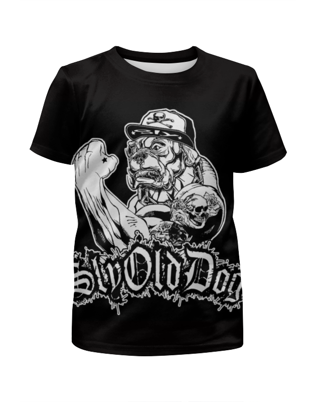 Футболка с полной запечаткой для мальчиков Printio Sly old dog футболка с полной запечаткой мужская printio sly old dog