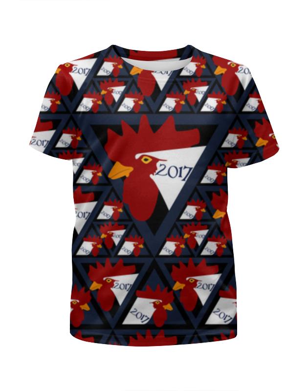 Футболка с полной запечаткой для мальчиков Printio Год петуха футболка с полной запечаткой для мальчиков printio новый год 2016