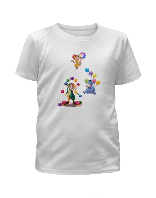 Футболка с полной запечаткой для мальчиков Printio Клоун осел девочка шарики. футболка с полной запечаткой для мальчиков printio клоун