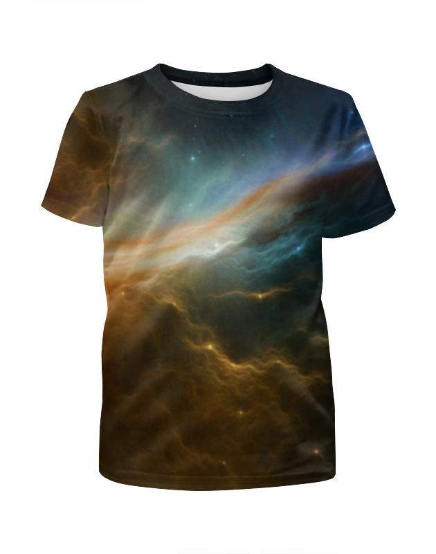 Футболка с полной запечаткой для мальчиков Printio Космос футболка с полной запечаткой мужская printio туманность 1