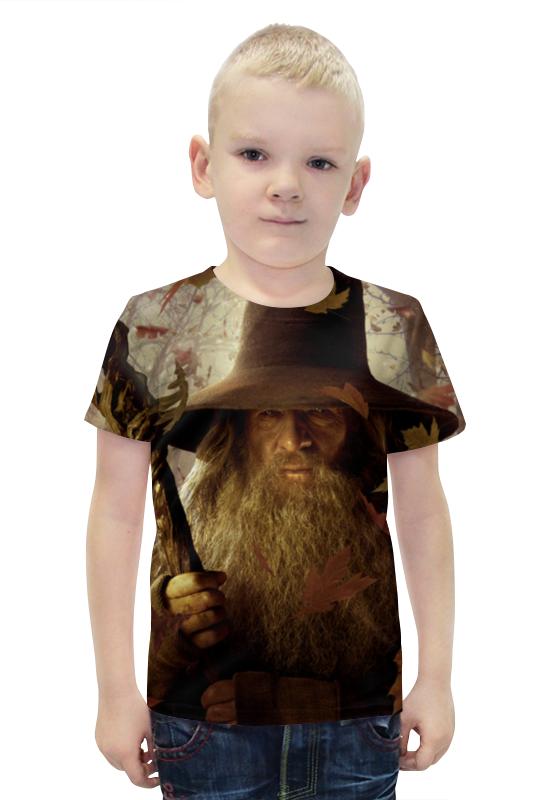 Футболка с полной запечаткой для мальчиков Printio Гэндальф футболка с полной запечаткой для девочек printio гэндальф