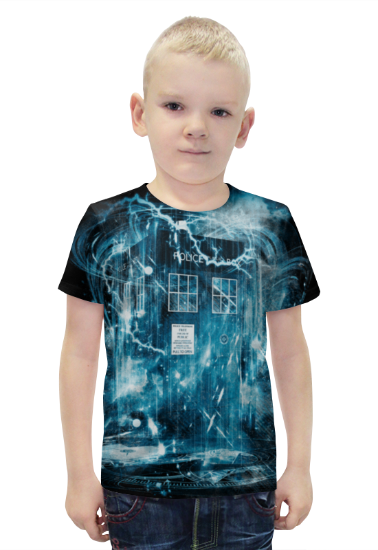 Футболка с полной запечаткой для мальчиков Printio Тардис футболка с полной запечаткой для мальчиков printio bats spawn arsb