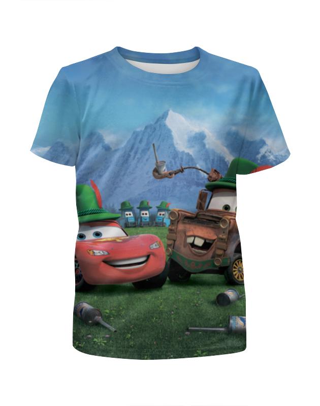 Футболка с полной запечаткой для мальчиков Printio Тачки футболка с полной запечаткой для мальчиков printio сланцы