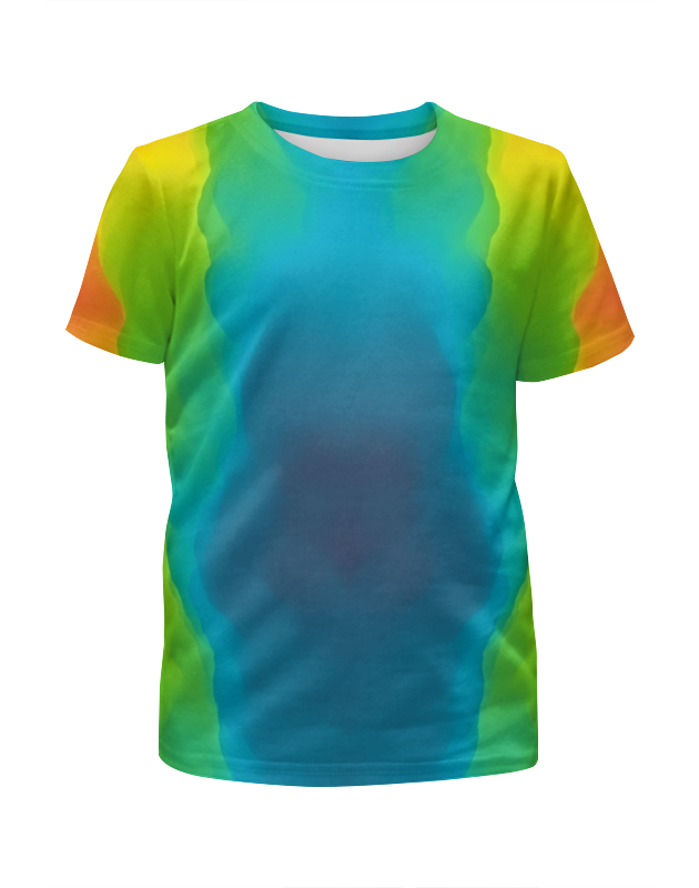 Футболка с полной запечаткой для мальчиков Printio Разводы красок футболка с полной запечаткой мужская printio буря красок