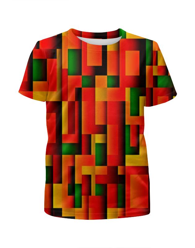 Футболка с полной запечаткой для мальчиков Printio Орнамент графический футболка с полной запечаткой для мальчиков printio геометрический орнамент
