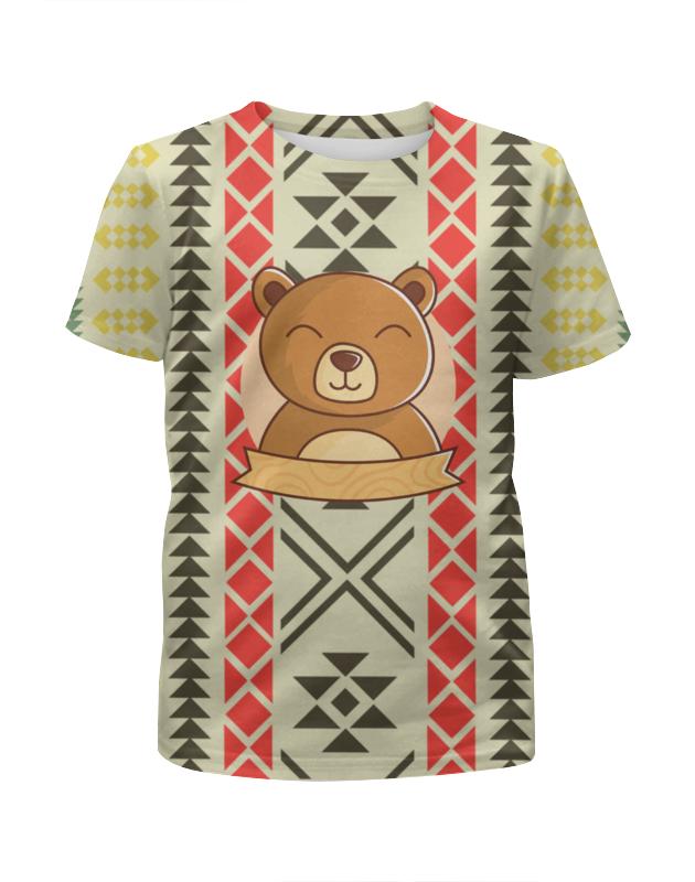 Футболка с полной запечаткой для мальчиков Printio Спящий медвежонок футболка с полной запечаткой для мальчиков printio кошечка