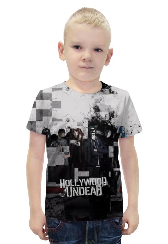 Футболка с полной запечаткой для мальчиков Printio Hollywood undead футболка стрэйч printio hollywood undead