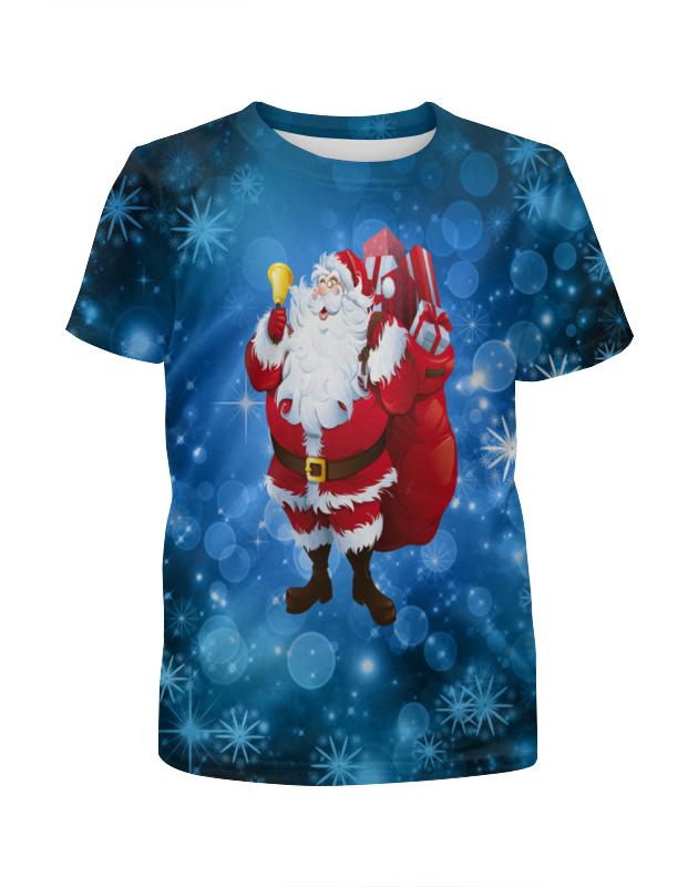 Футболка с полной запечаткой для мальчиков Printio Новый год футболка с полной запечаткой для мальчиков printio новый год 2016