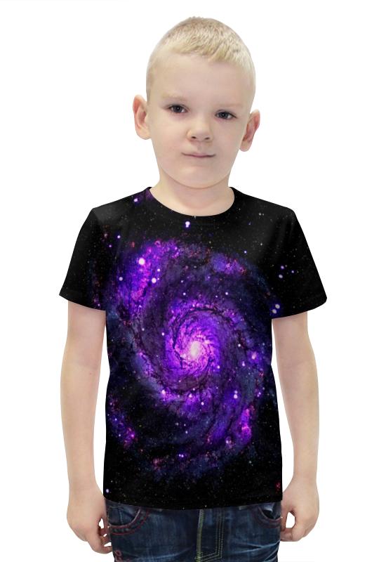 Футболка с полной запечаткой для мальчиков Printio Галактика футболка с полной запечаткой для мальчиков printio slove arsb