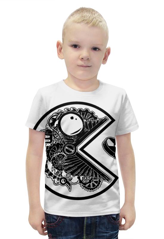 Футболка с полной запечаткой для мальчиков Printio Pac-man футболка с полной запечаткой для мальчиков printio bats spawn arsb