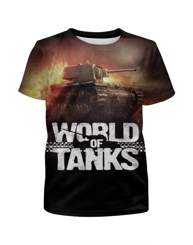 Футболка с полной запечаткой для мальчиков Printio World of tanks botticelli низкие кеды и кроссовки