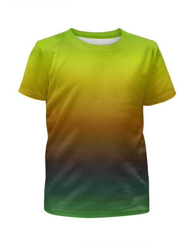 Футболка с полной запечаткой для мальчиков Printio Переход цвета борцовка с полной запечаткой printio переход цвета