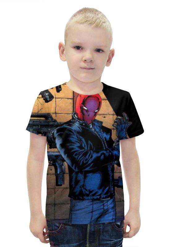 Футболка с полной запечаткой для мальчиков Printio Джейсон тодд футболка с полной запечаткой для девочек printio джейсон