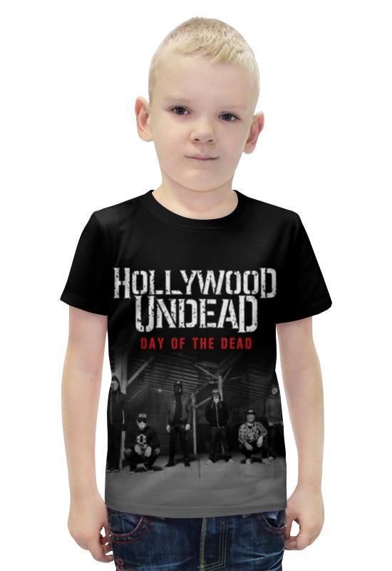 Футболка с полной запечаткой для мальчиков Printio Hollywood undead - day of the dead футболка стрэйч printio hollywood undead