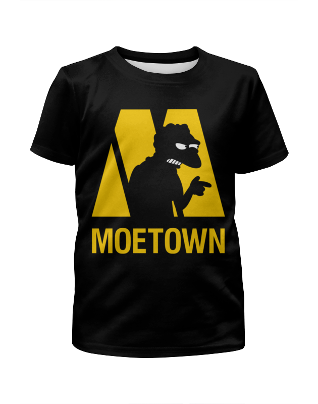 Футболка с полной запечаткой для мальчиков Printio Мо (симпсоны) футболка moe футболка