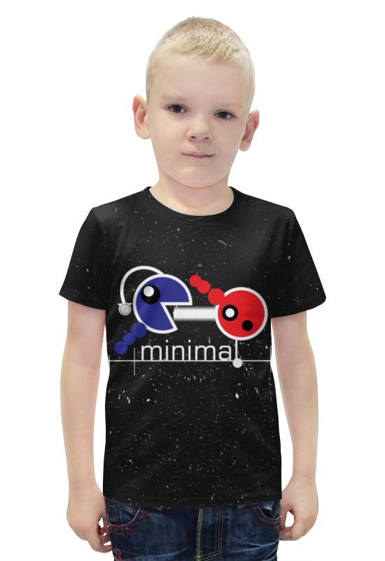 Футболка с полной запечаткой для мальчиков Printio Минимал футболка с полной запечаткой для мальчиков printio bats spawn arsb