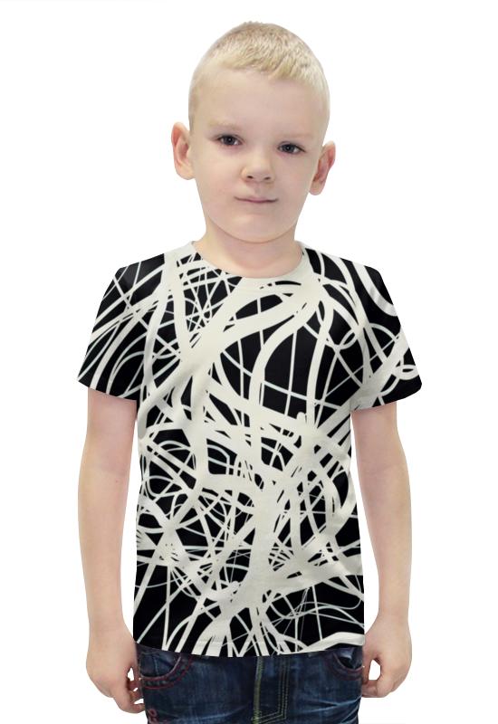 Футболка с полной запечаткой для мальчиков Printio Полоски футболка с полной запечаткой для мальчиков printio bats spawn arsb