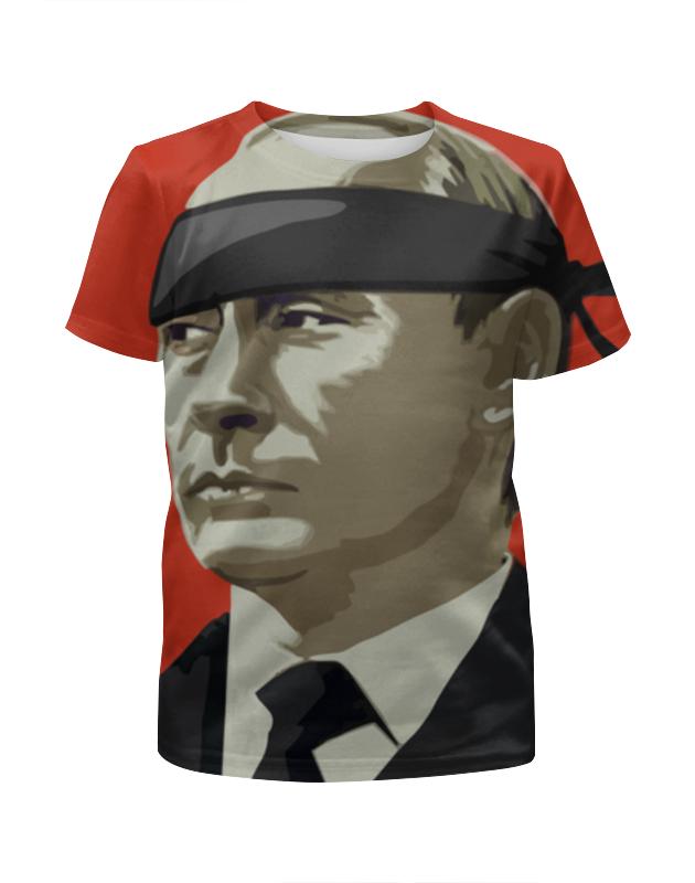 Футболка с полной запечаткой для мальчиков Printio Путин (россия) футболка с полной запечаткой для мальчиков printio москва россия